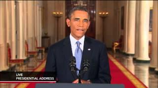Watch president barack obama address the nation on syria debate