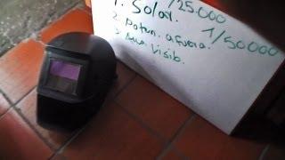 Cómo seleccionar una careta electrónica para Soldadura (How to select a welding helmet)