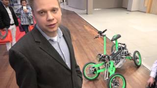 Aero-service EV4, 4-wheel electric bike from Poland