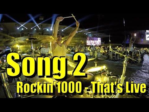 Rockin'1000 - Blur - Drum Cam