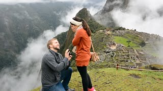 Best Proposal Ever - Machu Picchu Surprise