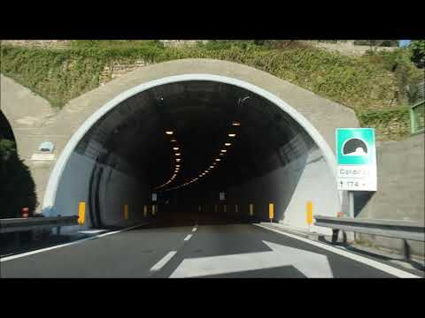 The Italian Highway - Off To Rome - Driving In Italy