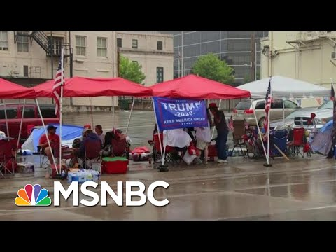 Marc Lotter Defends Trump Tweets: 'President Supports Peaceful Protests' | Hallie Jackson | MSNBC