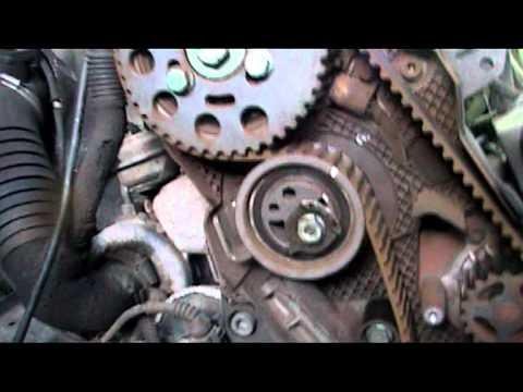 Timing Belt Water Pump Removal On A Vw Passat 19 Tdi 02
