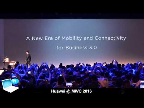 Huawei @ MWC 2016 - Huawei Matebook, MatePen e MateDock