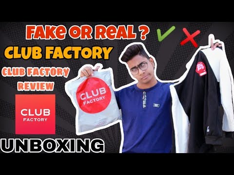 CLUB FACTORY REVIEW & FAKE OR REAL | ONLINE SHOPPING | HOODIE | UNBOXING