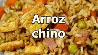 receta ARROZ FRITO CHINO TRES DELICIAS - recetas de cocina faciles rapidas y economicas de hacer
