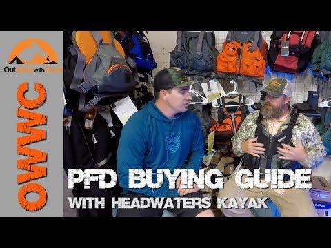 Kayak Fishing PFD Buyers Guide