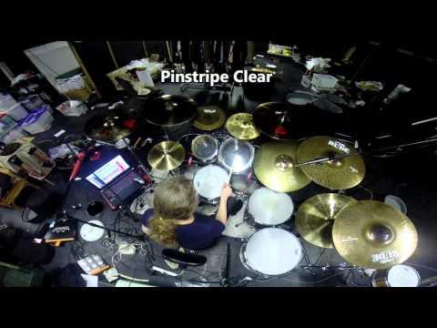 Remo drum head comparison - toms