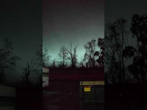 Weird lights over Portland Oregon