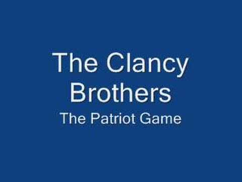 Clancy Brothers-Patriot Game