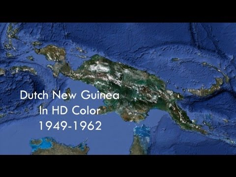 Dutch New Guinea in HD Color 1949-1962