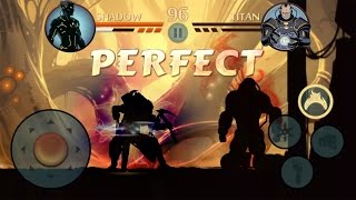 [WIN, 3 PERFECTs] GodMode Shadow Vs Titan [ECLIPSE] - Shadow Overpowered - Shadow Fight 2