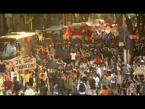 Brazil: public transport protests turn violent