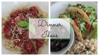 7 Dinner Ideas | What We Ate for Dinner | Recipes