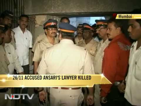 Lawyer for 26/11 accused shot dead in Mumbai