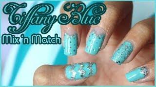 Tiffany Blue Mix 'n Match Nails
