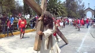 Tercer caida Semana Santa Los Remedios 2015