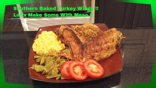 how to make southern baked turkey wings perfect for thanksgiving small dinners