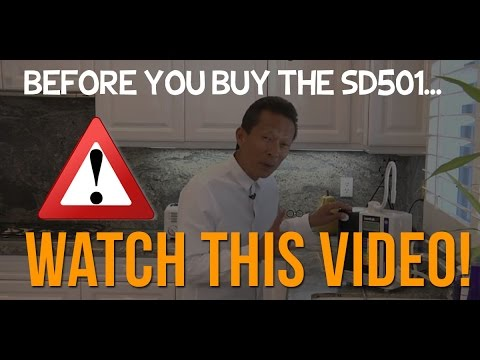 Watch This Video Before You Buy the Enagic Kangen Water Leveluk SD501 Machine