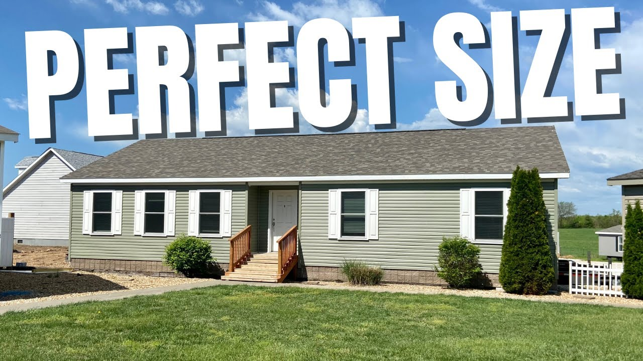 BRAND NEW PERFECT SIZED OFF FRAME MODULAR HOME! Chance's Mobile Home World Tour