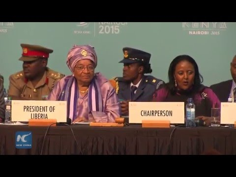 RAW:Liberia becomes WTO member