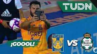 ¡Goool de Gignac!  | Tigres UANL 2 - 0 Santos Laguna | Liga MX - Apertura 2019  - Jornada 13 | TUDN