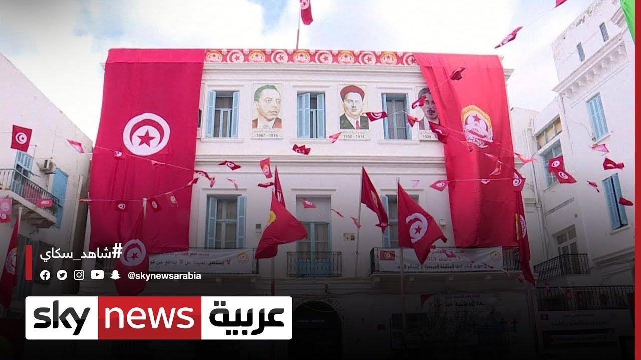 الاتحاد العام التونسي للشغل يؤكد رفضه لأي تحرك يقسم التونسيين ويدفع إلى التصادم|#مراسلو_سكاي  - 07:54-2021 / 9 / 19