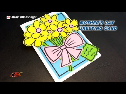 DIY Easy Greeting Card For Christmas / Mother's Day / Teacher's Day |  JK Arts 930