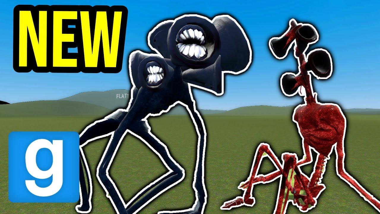 NEW SIREN HEAD MOD!! (Garry's Mod Nextbot)