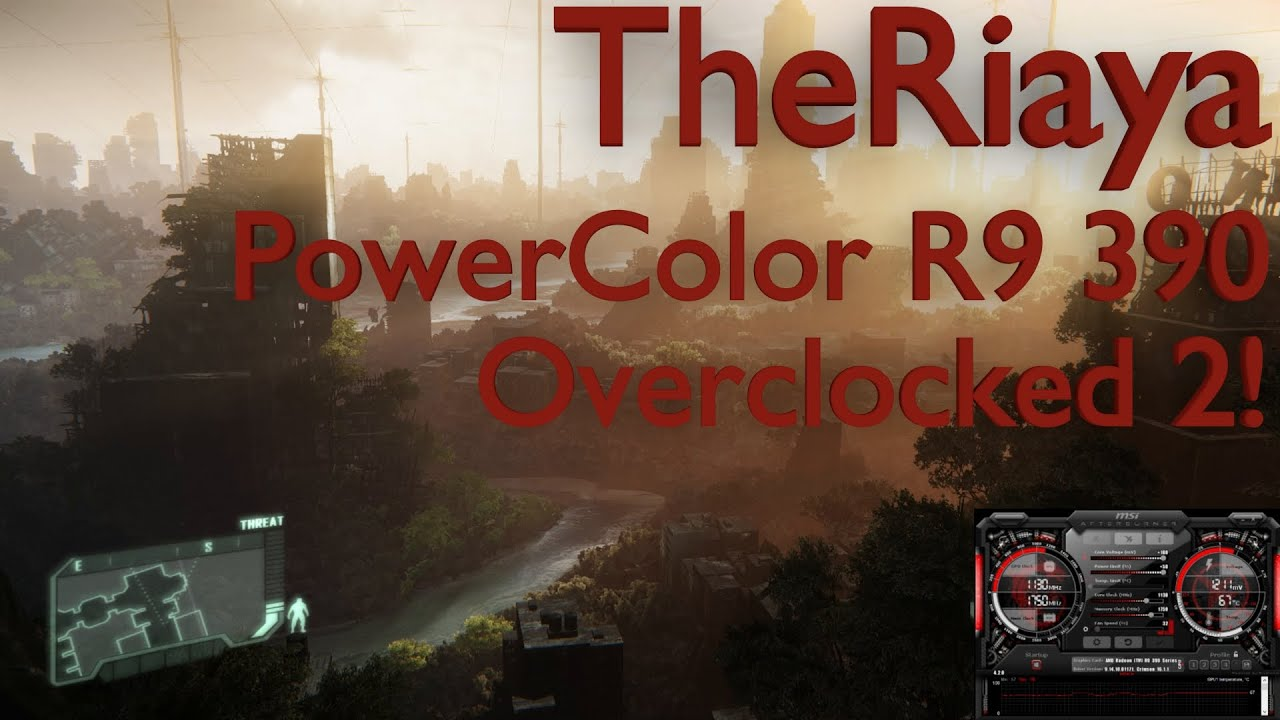 PowerColor PCS+ R9 390 Overclocked 2
