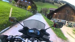W gory motocyklem