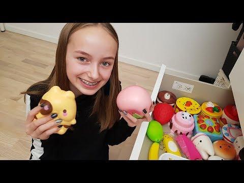 Legetøjsdillen de voksne ikke forstår: Nanna er besat af 'squishies' - DR Nyheder