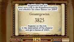 Book of Dead Gesamtgewinn €3825! Grosser Gewinn!