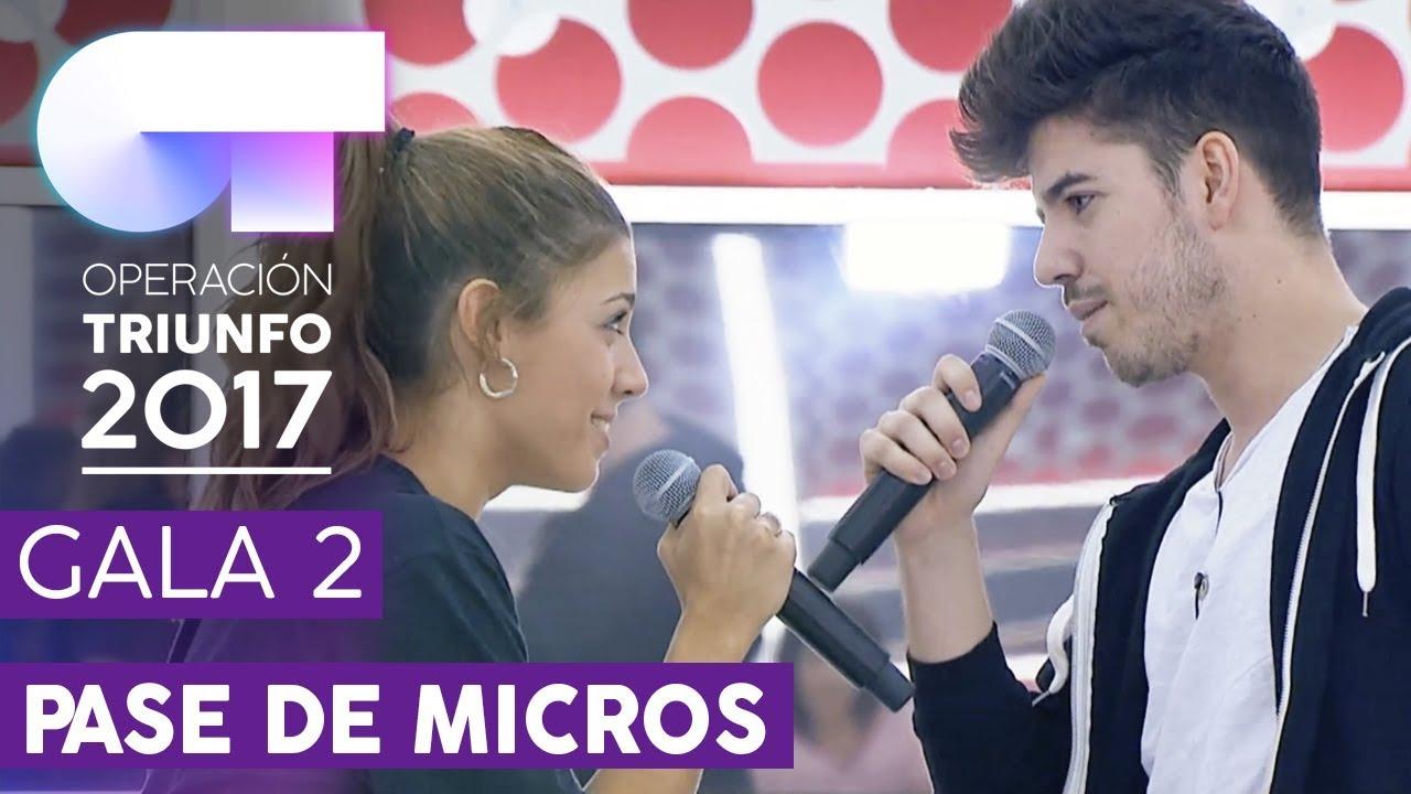 Malibu Miriam Y Roi Primer Pase De Micros Gala 2 Ot 2017 Youtube