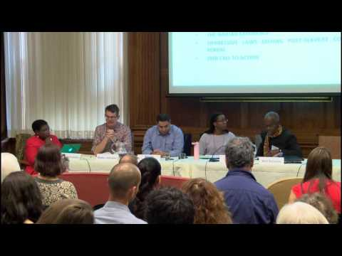 State Sponsored Collective Injustice Conference, Panel 1