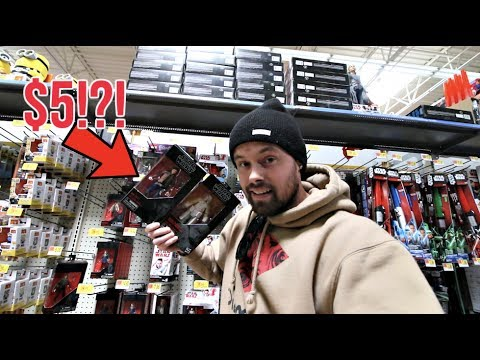 EPISODE 61 - TOY HUNTING NEW STAR WARS BLACK SERIES SOLO WAVE FOR $5! TOYS R US HYDRA 2 PACK!