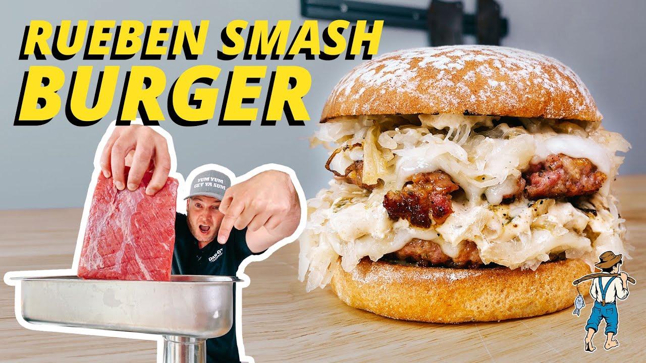 Rueben Smash Burger | Dan-O's Seasoning Recipes