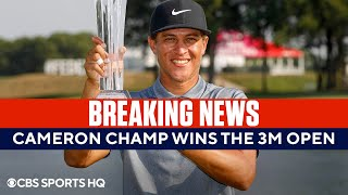 Cameron Champ Wins the 3M Open + Olympics Golf Preview