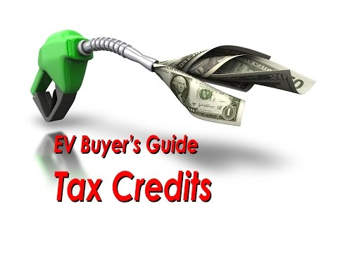 EV Buyer's Guide - Tax Credits