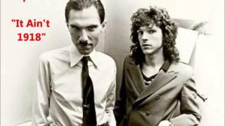 "Sparks ""It Ain't 1918"" LYRICS Russell Mael & Ron Mael (1975)"