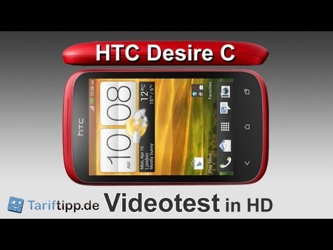 HTC Desire C | Test in HD (deutsch)