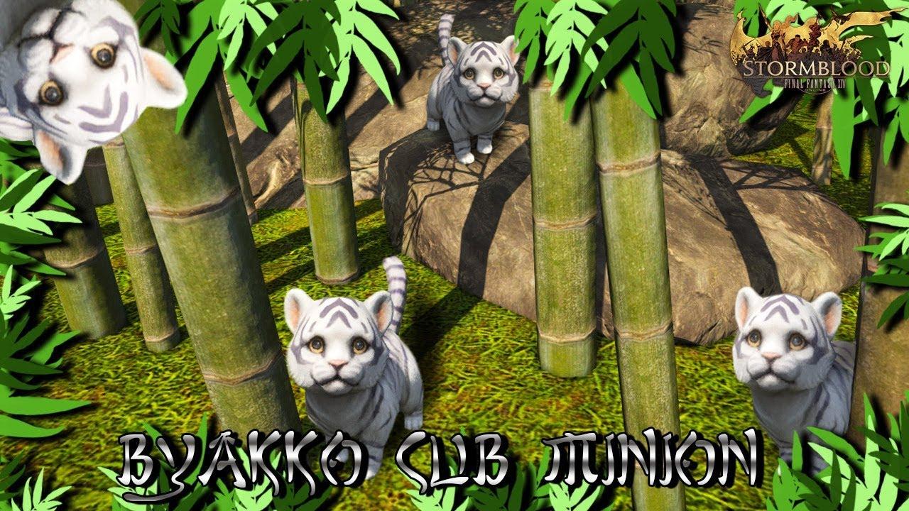 FFXIV: 4 2: Byakko Cub Minion!