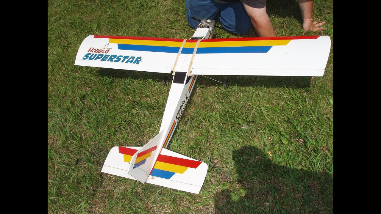 buy online a273d 6ec0c wades 3rd solo flight hobbico superstar 40