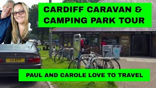 A video tour of the Cardiff Caravan and Camping Park