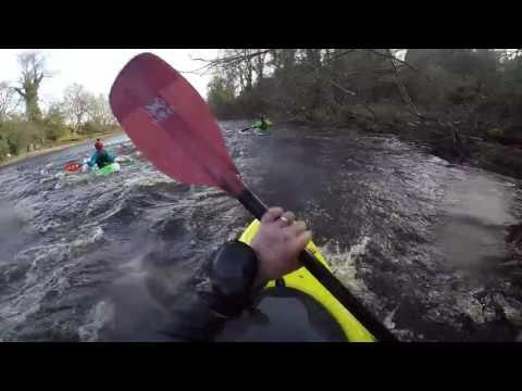 Halifax Canoe Club`s River Tees Trip, Feb 26th 2017