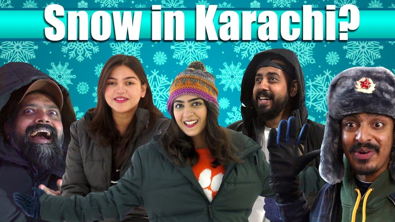 Snow In Karachi? | Bekaar Films | Winterland Vlog!