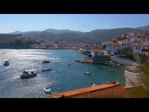 Samos, Greece in 4K