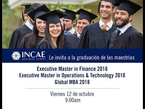 Graduación Global MBA, EMF, EMOT 2018