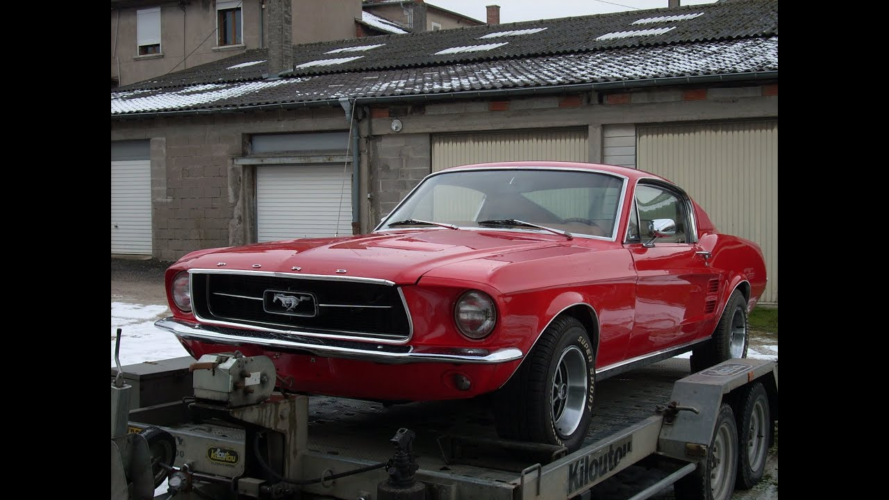 ford mustang fastback 1967 youtube. Black Bedroom Furniture Sets. Home Design Ideas